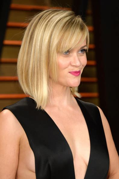 reese witherspoon angled bob more pics of reese witherspoon mid length bob 11 of 22