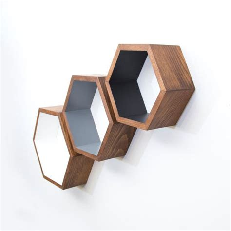 17 best ideas about honeycomb shelves on