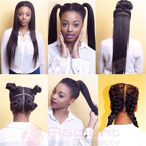 versatile weave hairstyles vixen sew in the new versatile way to wear your weave in 6