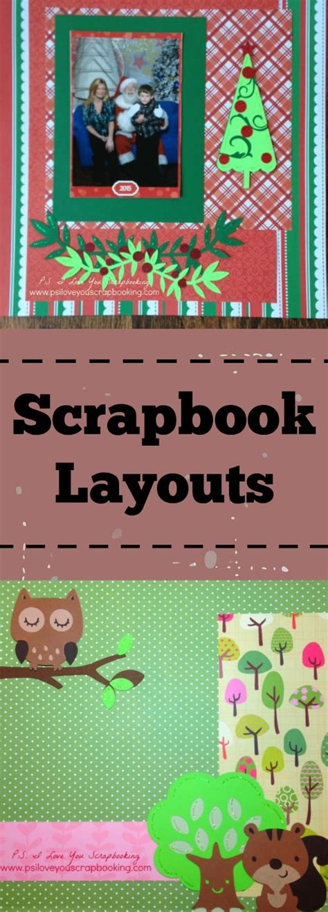 scrapbook layout craft scrapbook layouts p s i love you crafts