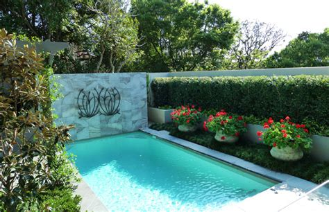 28 Pool Landscape Designs Decorating Ideas Design Pool Garden Design