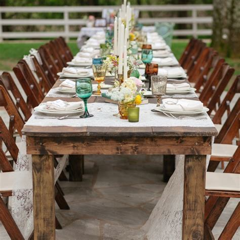 Wedding Decorations Tables Chairs Photograph   Vintage Furni