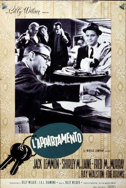l appartamento wilder l appartamento 1960 filmtv it