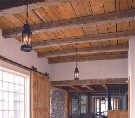 Wood Plank Ceiling Ideas
