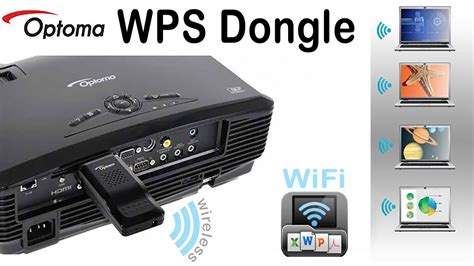 Wps Proyektor Optoma Wps Wifi Dongle Wps Wireless