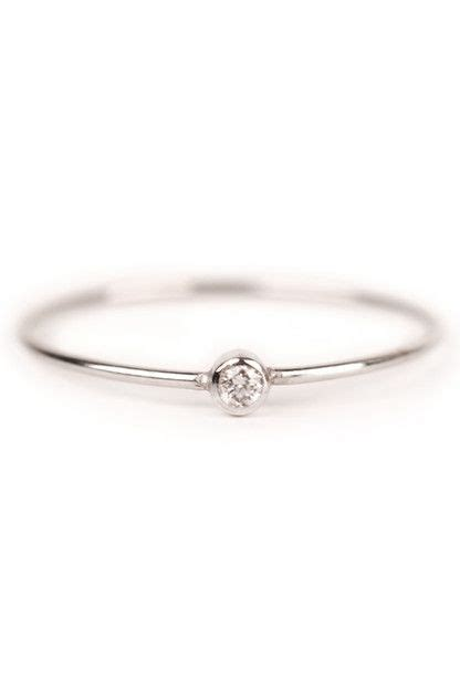 Simple One Engagement Rings by Tiny And Simple Engagement Ring One Must Accessorize