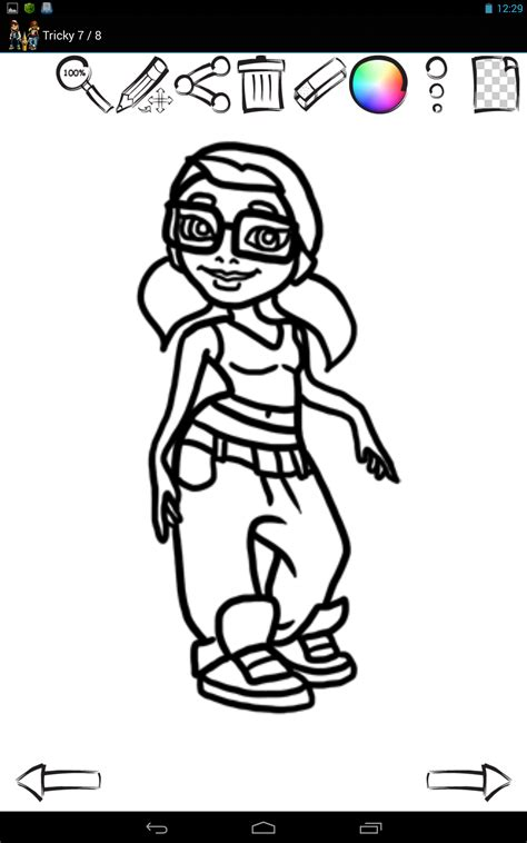 draw subway surfers characters amazoncouk