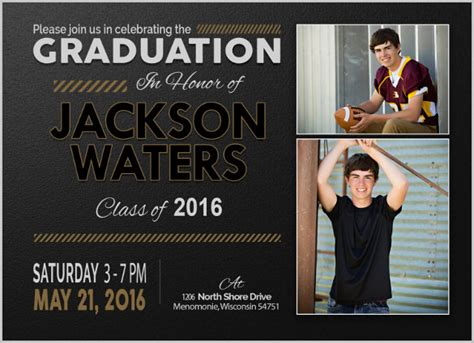15 graduation invitation templates invitation templates