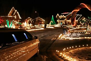 royal limousine are the mcadenville christmas light limo