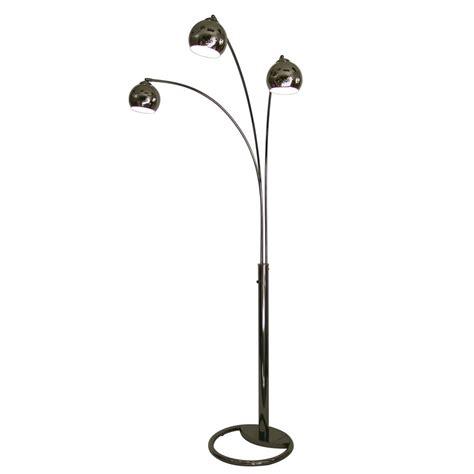 Indoor Floor Lights Shop Lighting 83 In Black Nickel Indoor Floor L