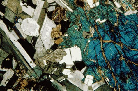 gabbro thin section odp legacy operations laboratory methods thin sections