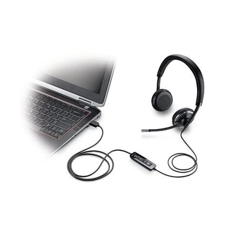 L 856 Black plantronics blackwire c520 m corded usb headset voip supply