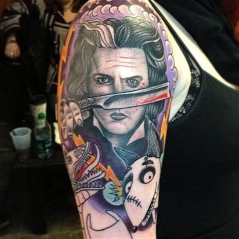 tim burton tattoo tim burton tattoos search ink