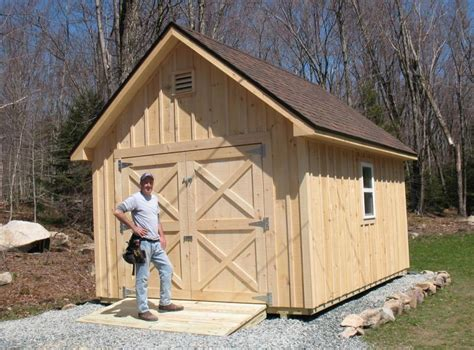 Build On Site Storage Sheds by Vermont Custom Sheds I Build Your Shed And I Ll Make