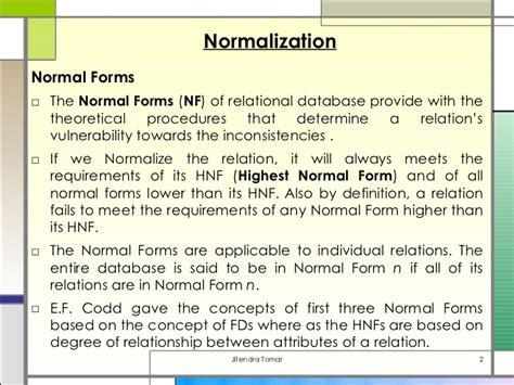 tutorialspoint normalization picture suggestion for normalization in dbms