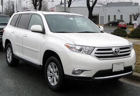 Toyota Highlander 8 Seater Toyota Highlander 8 Seater Reviews Prices Ratings With