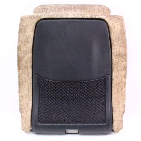 Gats Lx 605 Brown Genuine Leather seat back panel net pocket 98 01 audi a6 c5
