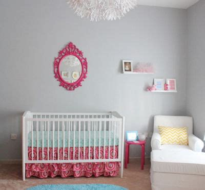 fuchsia pink really gives a baby s nursery a bright look