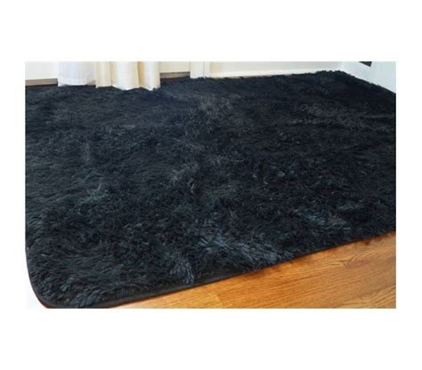 black plush rug softest floor college plush rug black floor decor supplies cheap decorating essential