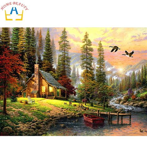 home paint painting by numbers diy picture drawing coloring on canvas painting by