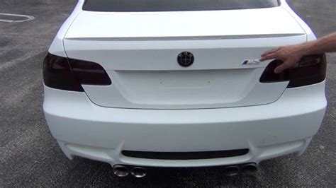 flat white color plastidip m3 matte white dipyourcar com pro car kit