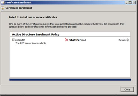 design editor is unavailable rpc server is unavailable error when requesting a