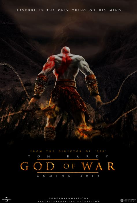 cool fan made video game movie poster art quot god of war cool fan made video game movie poster art geektyrant