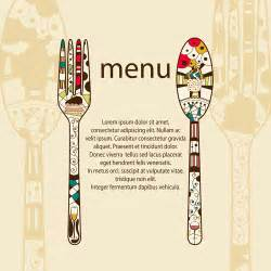 Menu Design Template by Restaurant Menus Design Cover Template Vector 05 Vector