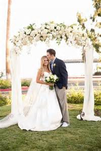 wedding ceremony arch best 25 floral arch ideas on