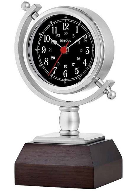 bulova desk clock price bulova b5402 sag harbor desk clock table clock the clock