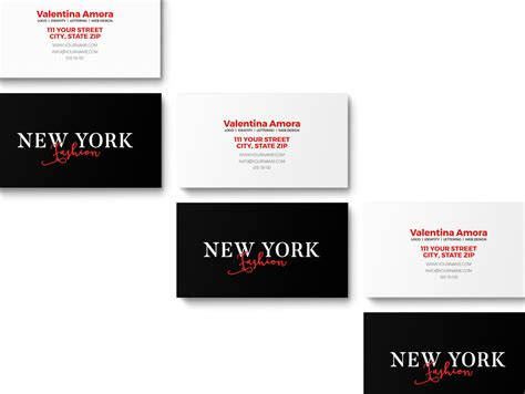 photoshop business card template anthony marisa