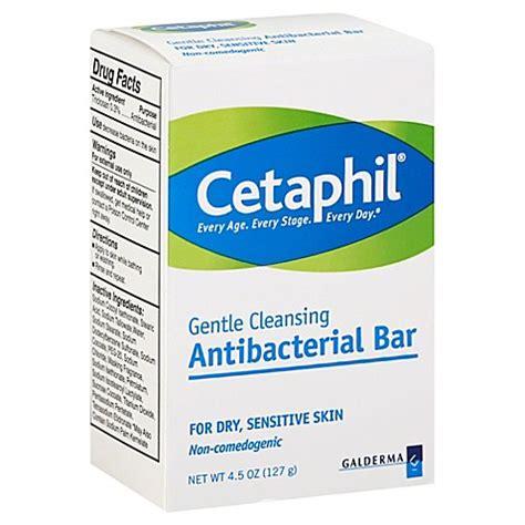 Detox Cleanse Fort Worth by Cetaphil 174 4 5 Oz Gentle Cleansing Antibacterial Bar Bed
