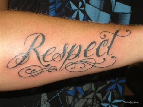 respect tattoos 50 awesome respect tattoos
