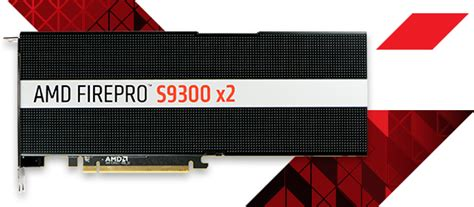 Amd Firepro Server Gpu 12gb S9100 professional gpus for servers amd