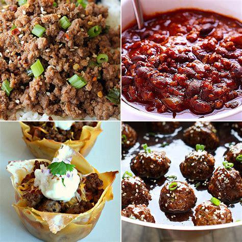 ground beef recipes popsugar moms