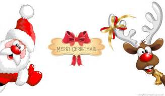 Merry christmas santa cartoon amazing wallpaper imagefully com