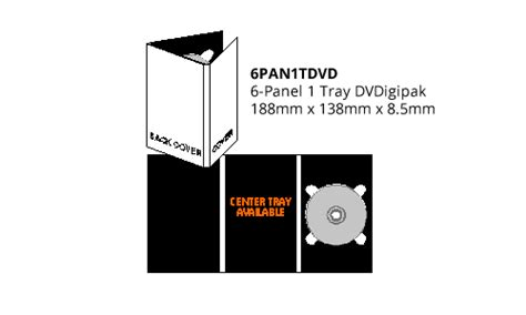 disc makers templates 6pan1tdvd