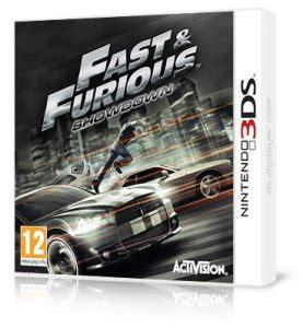 Nintendo 3ds Fast Furious Showdown Second fast furious showdown 3ds multiplayer it