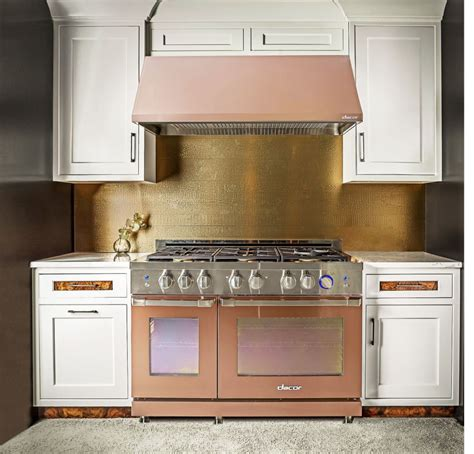 Rose Gold Appliances | 12 cool trends that will hit your kitchen in 2018