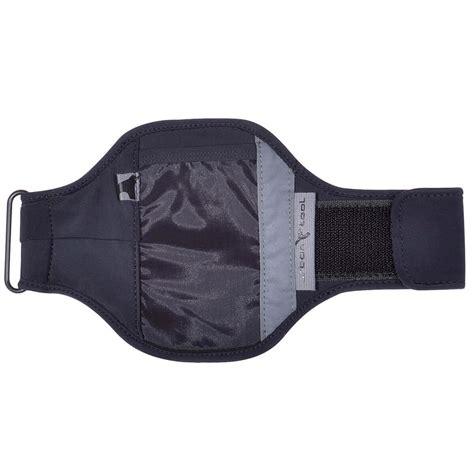Armband Sports Black sports armband with interactive hi tec fabric fits 5