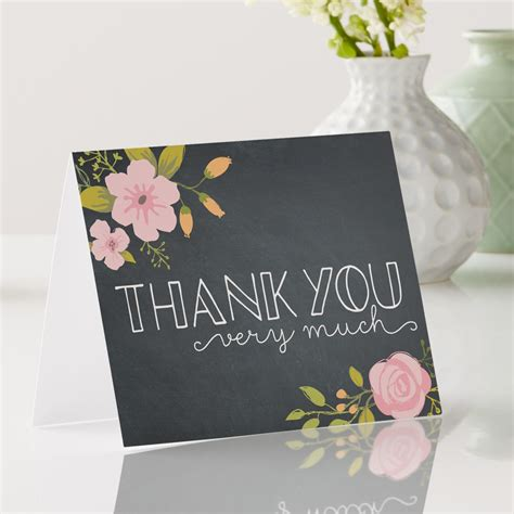 Thank You Card Images