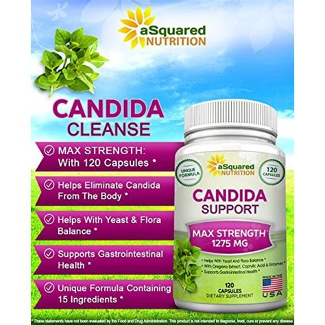 Sigmaceutical Candida Detox Reviews by Buy Candida Cleanse Supplement 120 Capsules