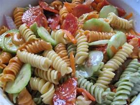 pasta salad recipie easy recipe italian pasta salad sabroso saturday new