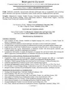 Early Childhood Intervention Specialist Cover Letter by Early Childhood Specialist Resume
