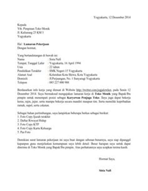 Contoh Lamaran Kerja Cpns Kejaksaan Tulis Tangan by Contoh Surat Lamaran Kerja Lulusan Sma Ben Contoh