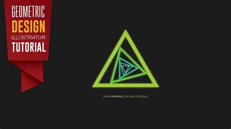 graphic design tutorial youtube geometric design tutorial adobe illustrator satori