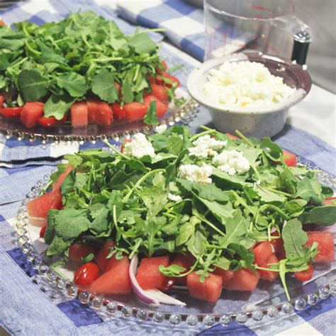 watermelon tomato salad watermelon tomato and baby kale or arugula salad fresh