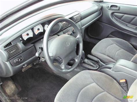 Dodge Stratus Interior by Slate Gray Interior 2002 Dodge Stratus Se Sedan Photo