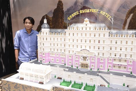 the grand budapest hotel dvd amazon co uk ralph lego experts crafted a massive replica of the grand