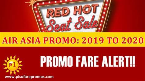 air asia red hot seat sale    promo